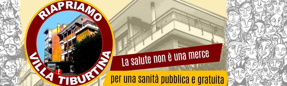 23 dic 2020 Presidio a Villa Tiburtina