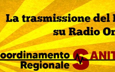 26 mag 2021 Trasmissione Radiofonica