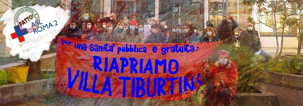 2 feb 2021 INCONTRO ALLA ASL ROMA 2 SU VILLA TIBURTINA