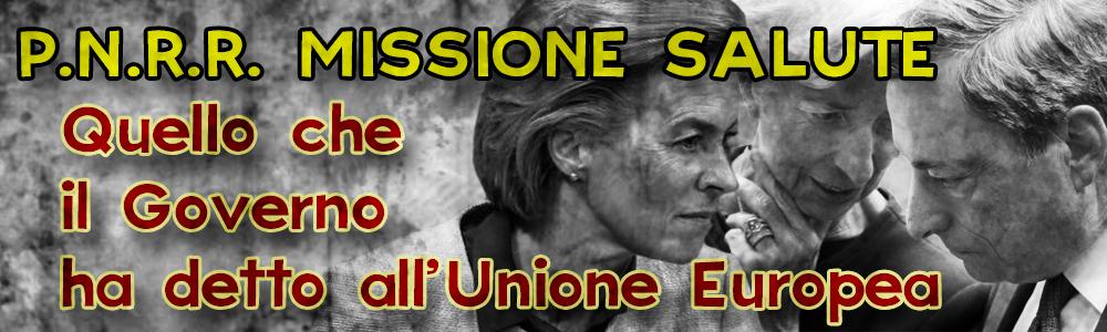12 ago 2021 La Missione Salute del PNRR: cosa ha detto Il Governo Italiano all'Unione Europea